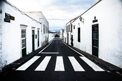 Lines Of Lanzarote Poster by Mountain Dreams
