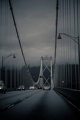 Lions Gate Bridge Vancouver Poster by Eti Reid
