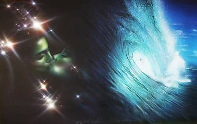 Ocean - 'liquid Lust' Poster by Christian Chapman Art