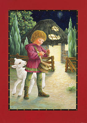 Little Drummer Boy Poster by Lynn Bywaters