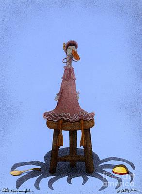 Little Miss Muffet... Poster by Will Bullas