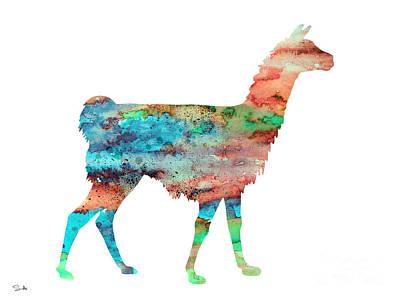 Llama Poster by Luke and Slavi