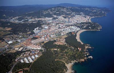 Lloret De Mar, Costa Brava Poster by Jordi Todó Vila