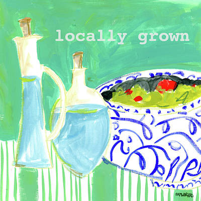Locally Grown Poster by Pamela J. Wingard
