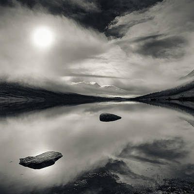 Loch Etive Poster by Dave Bowman