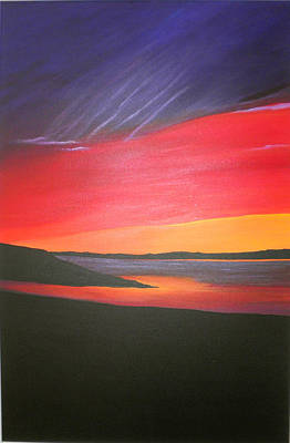 Loch Ewe Poster by Aileen Carruthers