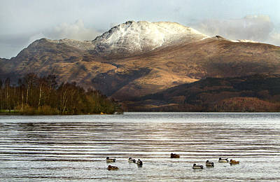Loch Lomond Poster by Trevor Sollars