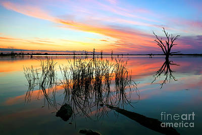 Loch Luna Sunset Poster by Bill  Robinson