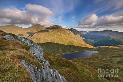 Loch Restil And The Rest And Be Thankful Poster by Rod McLean