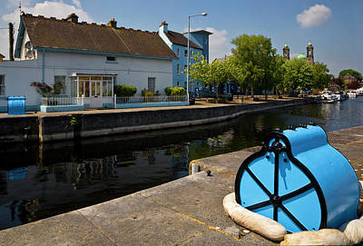 Lock On The River Shannon Poster by Panoramic Images