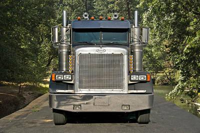 Logging Truck Poster by Dave Koontz
