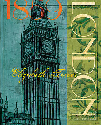 London 1859 Poster by Debbie DeWitt
