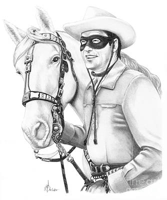 Lone Ranger Poster by Murphy Elliott