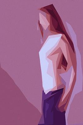 Lonely Girl Poster by Steve K