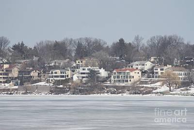 Long Island Frozen Coast II Poster by John Telfer