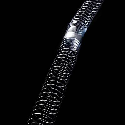Longitudinal Wave Poster by Science Photo Library