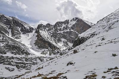 Longs Peak Winter Poster by Aaron Spong
