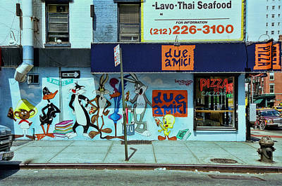 Looney Tunes Mural Poster by Allen Beatty