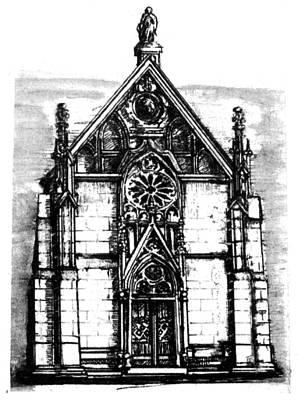 Loretto Chapel Poster by Del Gaizo