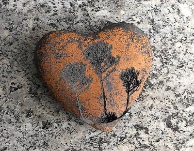 Lost Heart Poster by Juergen Weiss