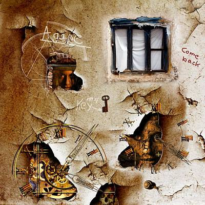 Lost Memories Behind My Longing Window Poster by Franziskus Pfleghart