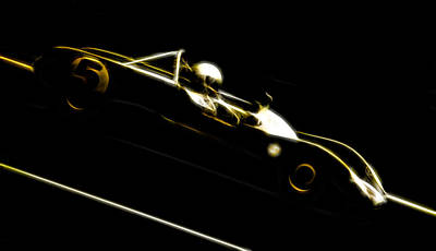 Lotus 23b Racer Poster by Phil 'motography' Clark