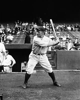 Lou Gehrig Stance Poster by Retro Images Archive