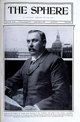 Louis Botha Poster by British Library