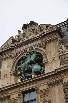 Louvre - Paris France - 011333 Poster by DC Photographer