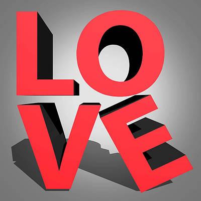 Love 2 Poster by Mark Ashkenazi
