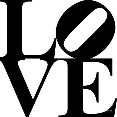 Love 20130707 Black White Poster by Wingsdomain Art and Photography