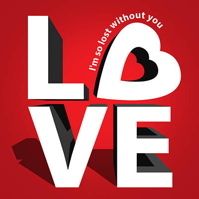 Love 3  Poster by Mark Ashkenazi