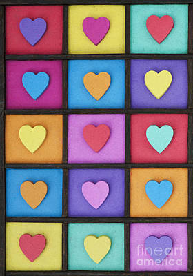 Love Colour Poster by Tim Gainey