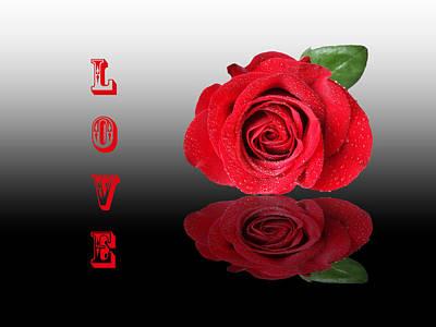 Love Poster by Gill Billington
