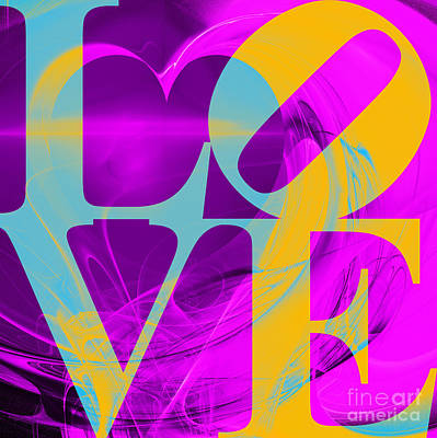 Love Heart 20130707 V1 Poster by Wingsdomain Art and Photography