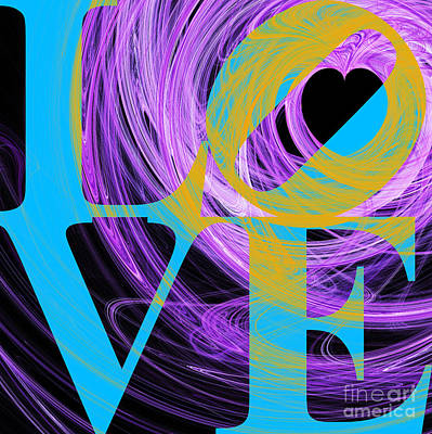Love Heart 20130707 V2 Poster by Wingsdomain Art and Photography