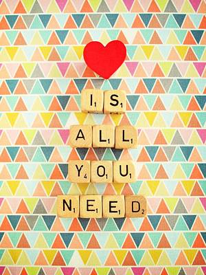Love Is All You Need Poster by Mable Tan