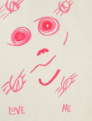 Love Me Poster by Rick Stecz