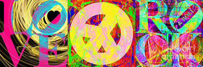 Love Peace And Rock And Roll Return To The Summer Of Love 20140605 Poster by Wingsdomain Art and Photography