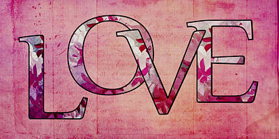 Love - S0103t Poster by Variance Collections