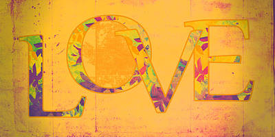 Love - S07-01tg01 Poster by Variance Collections