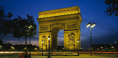 Low Angle View Of A Monument, Arc De Poster by Panoramic Images