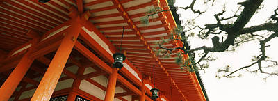 Low Angle View Of A Shrine, Heian Jingu Poster by Panoramic Images
