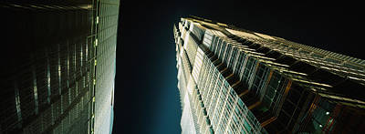 Low Angle View Of A Tower, Jin Mao Poster by Panoramic Images