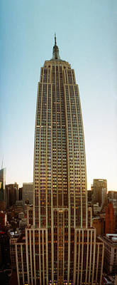 Low Angle View Of The Empire State Poster by Panoramic Images