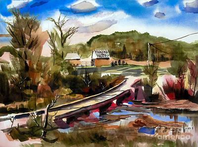 Low Water Bridge IIi Poster by Kip DeVore