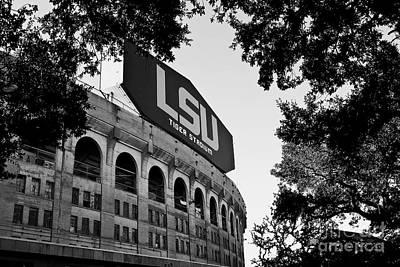 Lsu Through The Oaks Poster by Scott Pellegrin