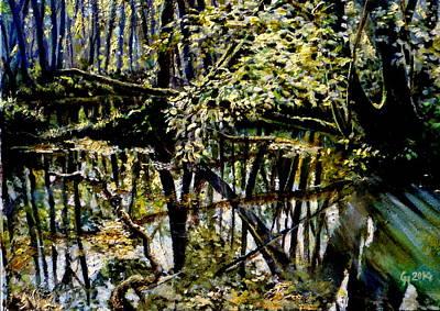 Lubianka-4 Mystery Of Swamp Forest Poster by Henryk Gorecki