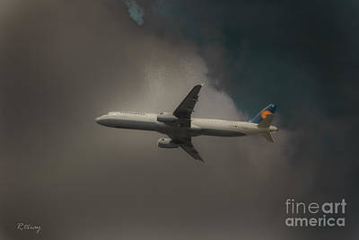 Lufthansa A320 Airbus Poster by Rene Triay Photography