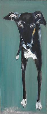 Lula, 2009 Oil On Board Poster by Sally Muir